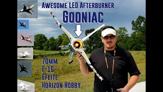 Horizon Hobby - 70mm F-16 Thunderbird - Gooniac LED Afterburner