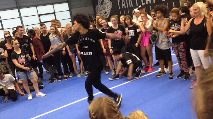 les twins  larry freestyle  fair play dance camp