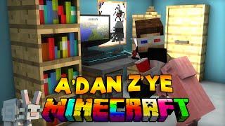 Minecraft - A'DAN Z'YE MİNECRAFT! (Efsane Harita)