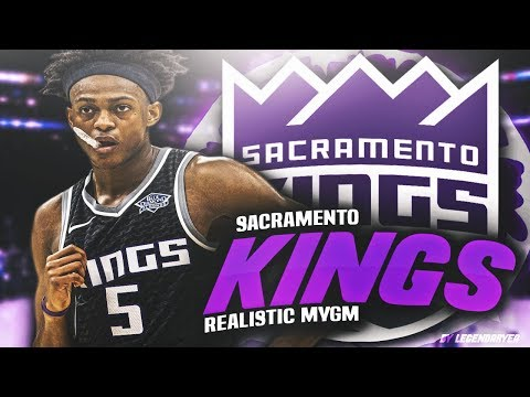 THE BEGINNING OF THE DE'AARON FOX ERA! NBA 2K18 SACRAMENTO KINGS REALISTIC MYGM #1