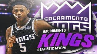 THE BEGINNING OF THE DE'AARON FOX ERA! NBA 2K18 SACRAMENTO KINGS REALISTIC MYGM #1