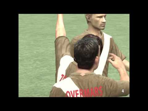 UEFA EURO 2008: CLASSIC PLAYERS - Classic XI VS World XI - 1st half (pc gameplay)
