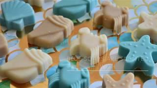 SEASHELL TREASURES~ Making Cold Process Soap
