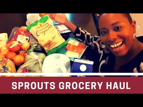 Sprouts Farmers Market Grocery Haul with BusyBeingMom