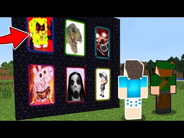 ENCONTRAMOS OS NOVOS PORTAIS SECRETOS DO MINECRAFT!