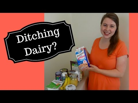 How to give up dairy? | Easy Non-Dairy Alternatives