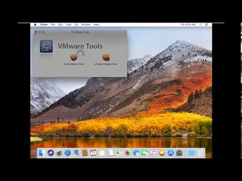 How To Enable Fullscreen MacOS High Sierra 10.13 On VMware Workstation