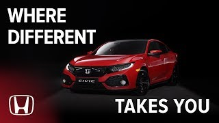Honda Civic - See Where Different Takes You!