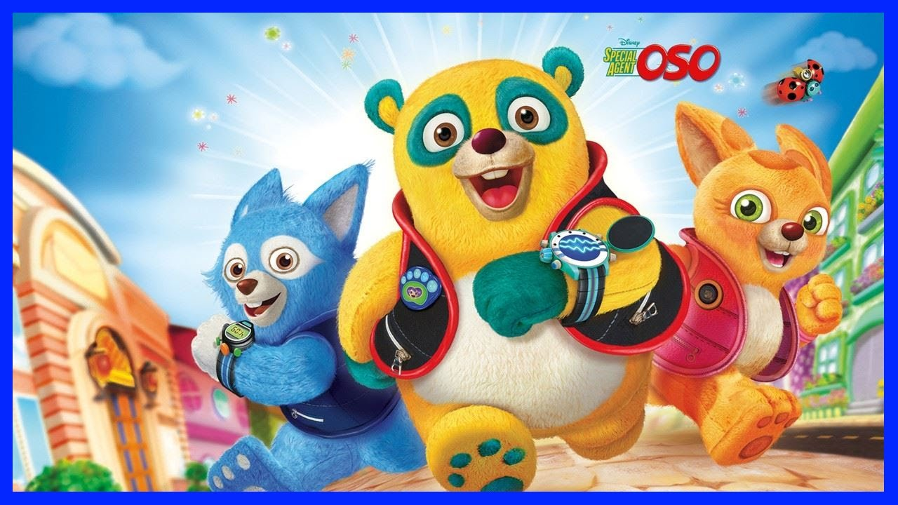 disney special agent oso full coloring book english 2016 youtube