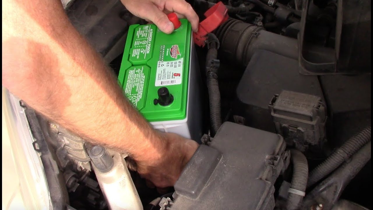 Replace A Car Battery Honda Crv Accord Civic Or Any Other