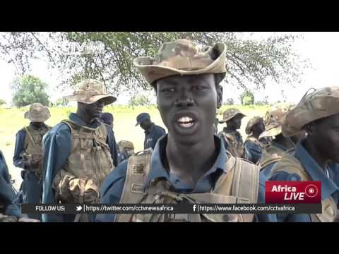 South Sudan trains its police in dealing with cattle raiding