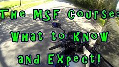 Tutorial: The MSF course, what to expect! Motorcycle training for beginners! Motorcycle Safety