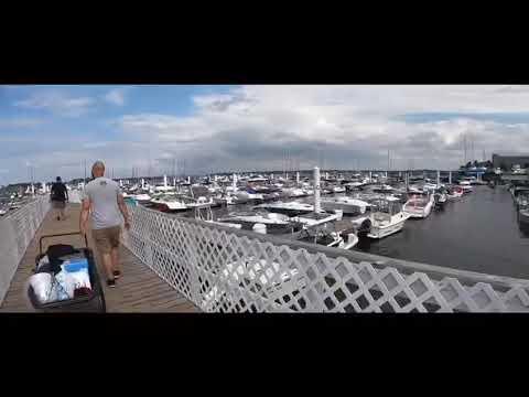 Fishing At City Island Bay.