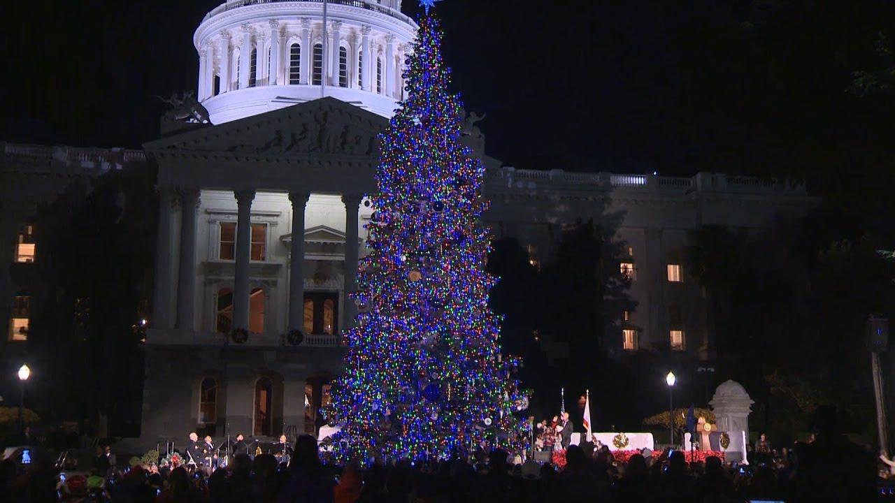 California State Capitol Christmas Tree - YouTube