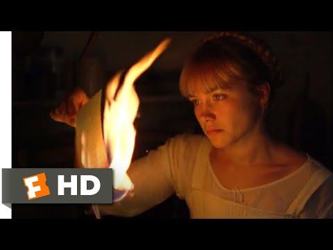 Little Women (2019) - Book-Burning Fight Scene (2/10) | Movieclips