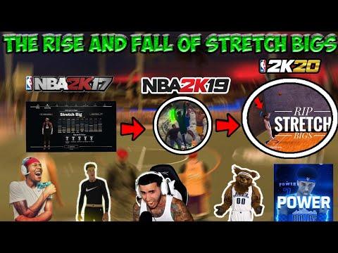 NBA 2K History | The Rise and Fall of Stretch Bigs [NBA 2K17 - NBA 2K20]