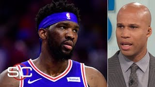 Joel Embiid's injury a huge blow, being Lakers HC not a great job - Richard Jefferson | SportsCenter