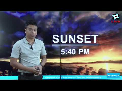 Public Weather Forecast Issued at 4:00 AM January 05, 2018