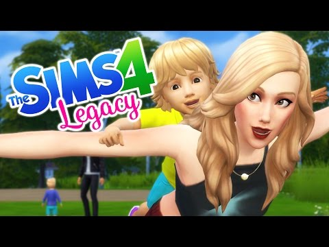 """TODDLER TROUBLE! Sims 4 City Living """"Legacy"""" Ep.13"""