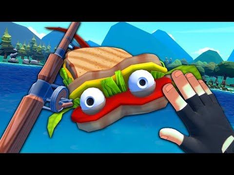 HAUNTED SANDWICH FISH - Crazy Fishing (VR) thumbnail