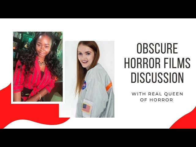 Obscure Horror Movies discussion with Real Queen of Horror