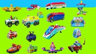 1 hour of fun with Paw Patrol | Police cars, Paw Patroller, fire engines and more