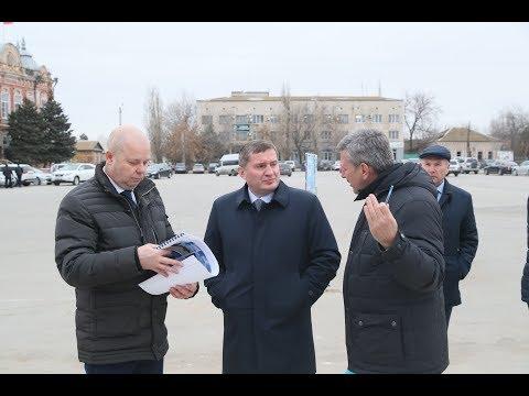 Бочаров впервые посетил Ленинск после отставки глав города и района