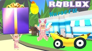 🍌Spending All My Bucks On New Gifts! Roblox: Adopt Me! ~ So Many Banana Prizes!