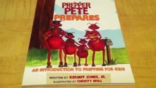 Off The Preppers Book Shelf (ep#2) Prepper Pete Prepares: Childrens Book For Prepping