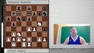 Carlsen vs Wojtaszek (Shamkir 2018): Nuevo esquema contra la siciliana