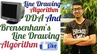 Line drawing algorithm DDA & Bresenham