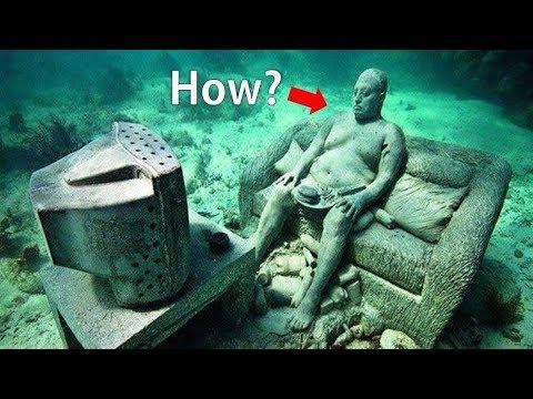 समुद्र में मिले 10 रहस्यमयी चीजें   Top 10 Mysterious Things Found Underwater   Mysterious Treasure✔