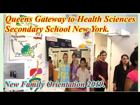 Orientation Queens Gateway To Health Sciences Secondary School. New York