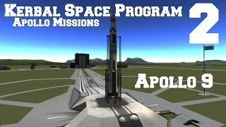 KSP: Apollo Missions 2:  Apollo 9.