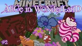 Minecraft: Alice in Wonderland (Custom Map) - Part 2