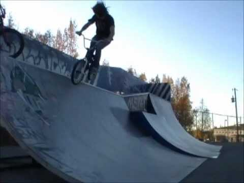 Dirty goat BMX new 2011 web series-#1 Ghetto BMX AK style