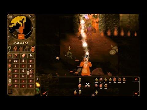 Dungeon Keeper: The Deeper Dungeons - Gameplay (Final Battle of a Level)