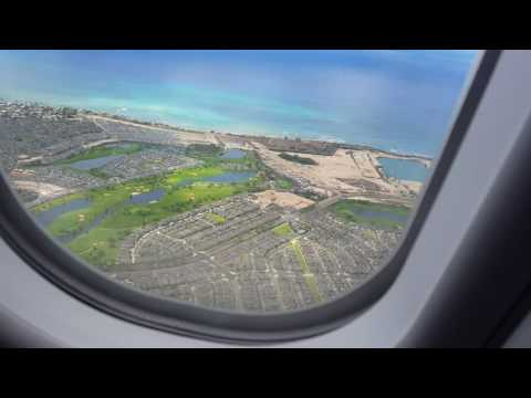 Philippine Airlines PR100 Landing in Honolulu International Airport