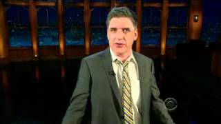1. Cold Open and Monologue 2 Jan 2012- Late Late Show Craig Ferguson