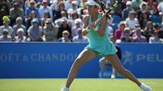 2016 Aegon International Second Round | Johanna Konta vs Pironkova | WTA Highlights