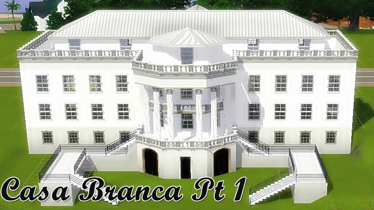 The sims 3 speed build white house a casa branca pt - Casas bonitas sims 3 ...