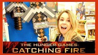 Catching Fire + Minecraft