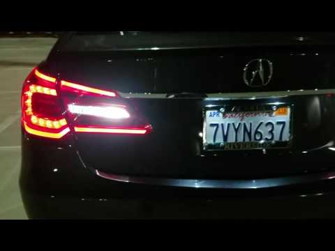 Acura RLX Legend Led Tail lamps KC2 Conversion