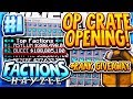 OP CRATE KEY OPENING + RANK GIVEAWAY! | Minecraft FACTIONS Series #1 (Hayzle Factions)