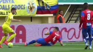 вильярреал - Леванте 3-0 обзор матча 28 02 2016 HD