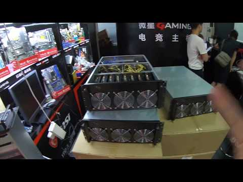Machine à miner Chinoise 8 cartes P106, un Mineur à prix choc depuis la Chine