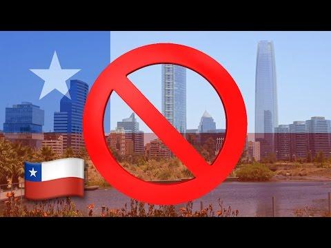 Las 10 desventajas de emigrar a Chile