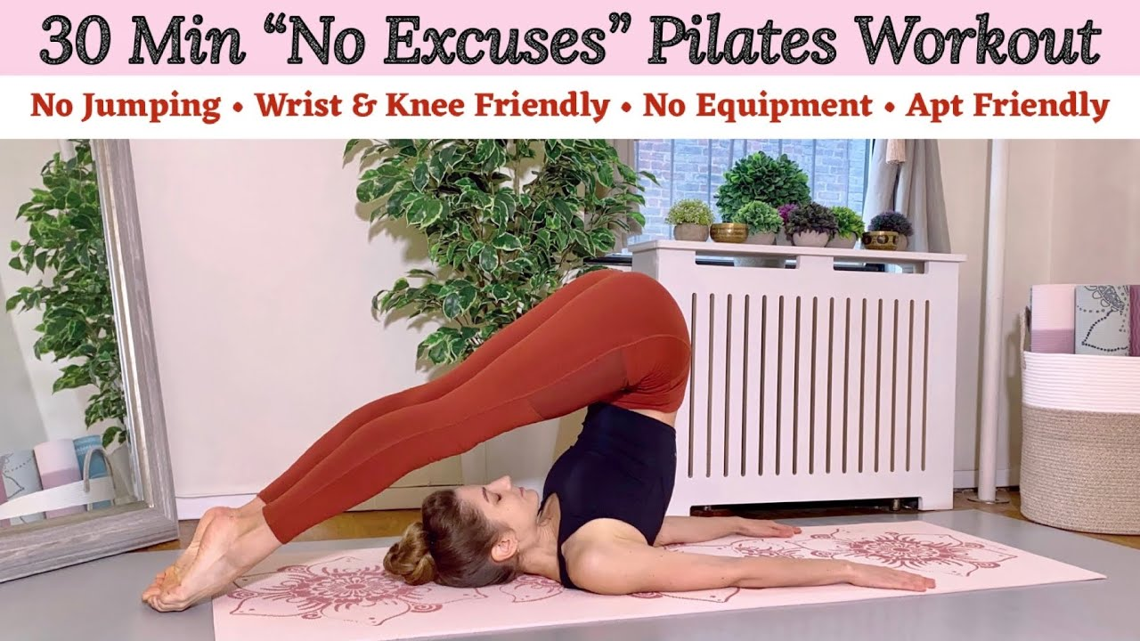 """Download 30 MIN """"NO EXCUSES"""" PILATES WORKOUT 