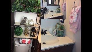 Cómo decorar un baño pequeño elegante y con poco dinero 💵 | ideas de para decorar el baño d