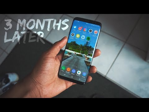 Galaxy s8 Review 3 Months Later - By Apple Fan Boy